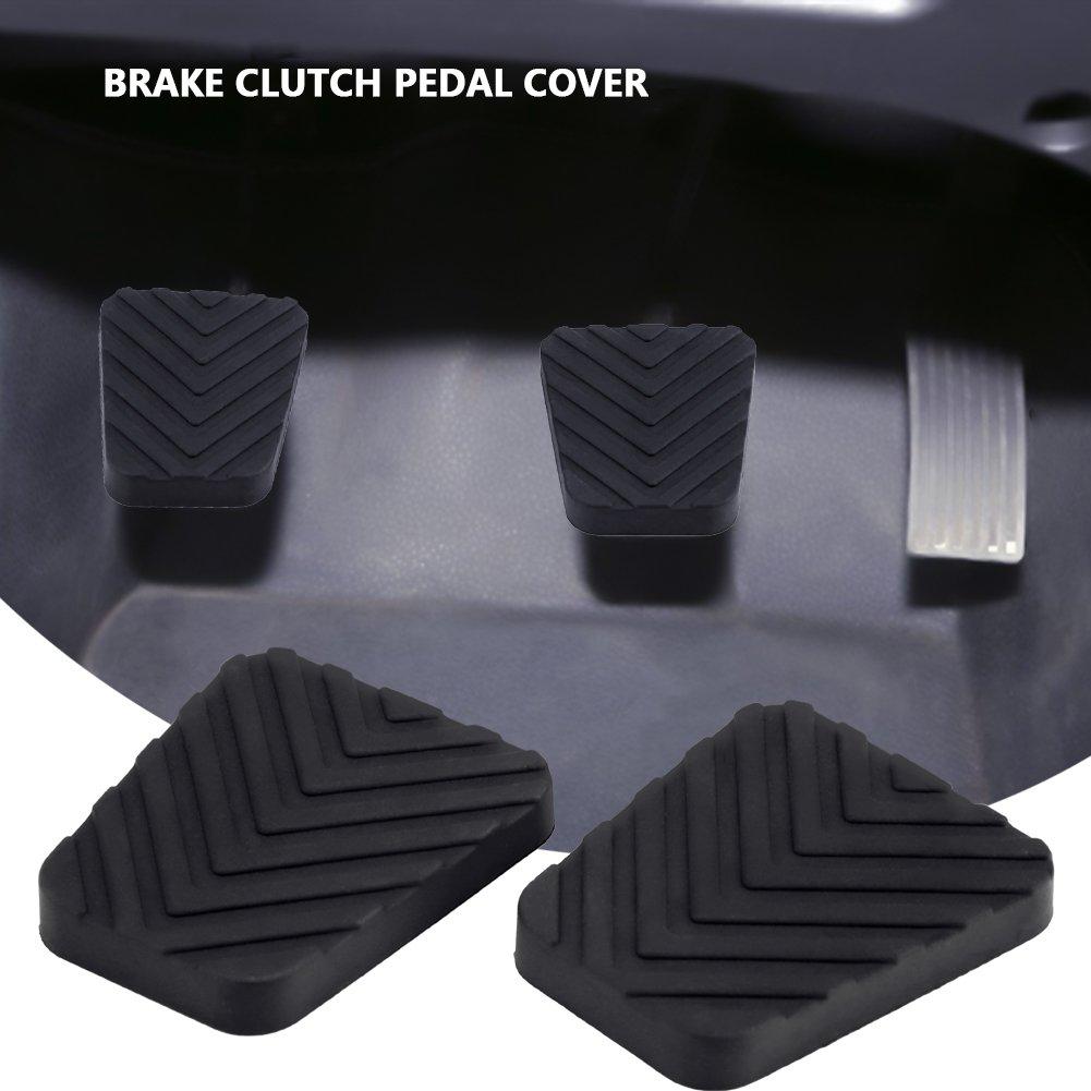 Cubierta del pedal del Auto KIMISS 2 Rubber pad for brake clutch pedal of coche