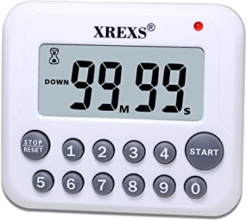 XREXS Digital Countdown Up Cooking Kitchen Timer Clock