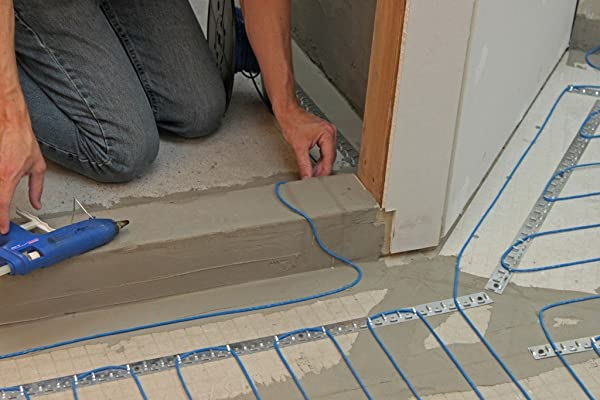 Heating cables are preferred for bathrooms