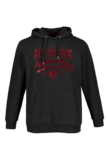 bba45cf9629b Amazon.com  JP 1880 Men s Big   Tall Authentic Contrast Logo Hoodie 716982   JP 1880  Clothing