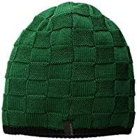 Seirus Innovation Chess Hat Knit Beanie For Cold Weather Protection, Green/Black, One Size
