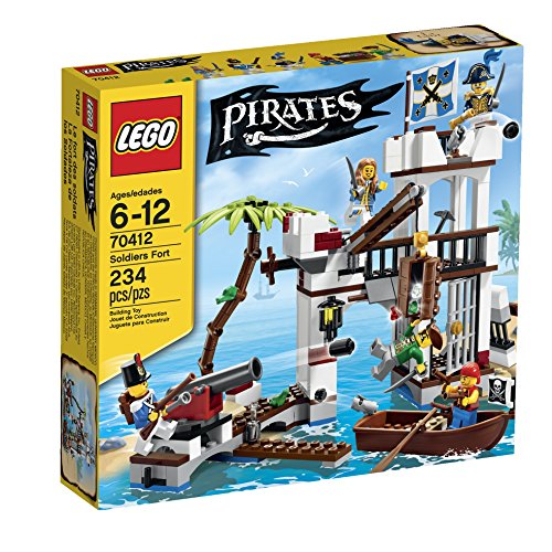 LEGO Pirates Soldiers Fort 70412]()