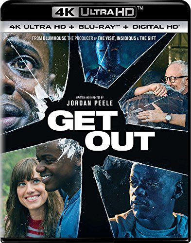 4K Blu-ray : Get Out (With Blu-Ray, Ultraviolet Digital Copy, 4K Mastering, Digitally Mastered in HD, 2 Pack)