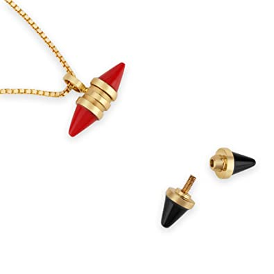 Buy Mia by Tanishq 14KT Yellow Gold, Onyx and Coral Pendant