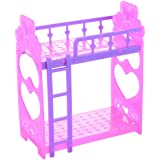 Amazon Com Barbie Sisters Bunk Beds By Mattel Toys Games