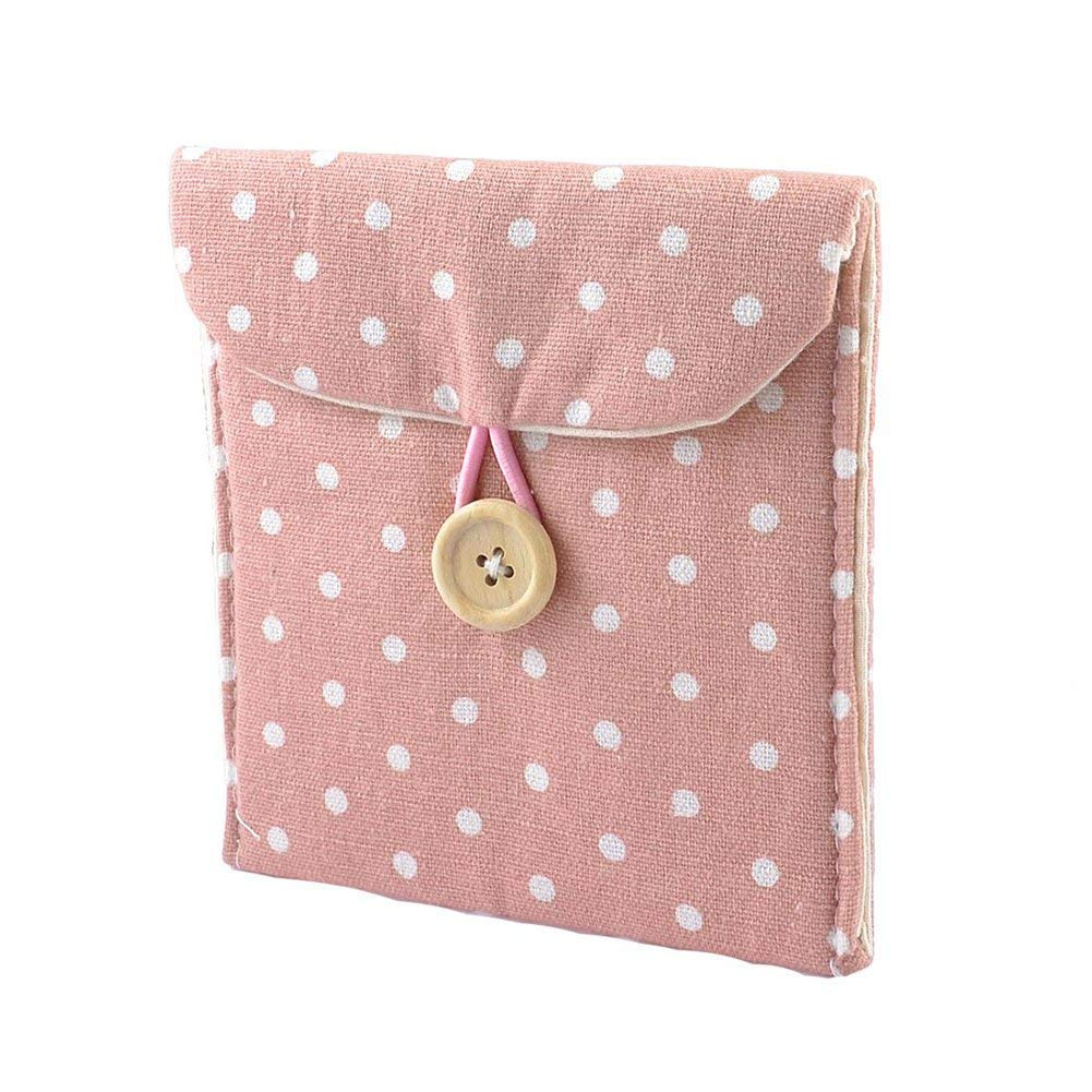 Amazon.com: Sanitary Towel Storage Bag Lightweight Lady Linen Sanitary Napkin Towel Pad Small Mini Bags Case Pouch 1PC: Home & Kitchen