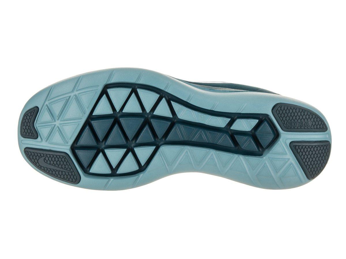 NIKE Women's Flex 2017 RN Running Shoe Cerulean/White/Space Blue/Mint Foam Size 9 M US by NIKE (Image #4)