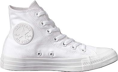 Converse C Taylor A/S HI Chucks Chuck All Star Sneaker White 1U646 Canvas, Tamaño de Zapato:EUR 41.5: MainApps: Amazon.es: Ropa y accesorios