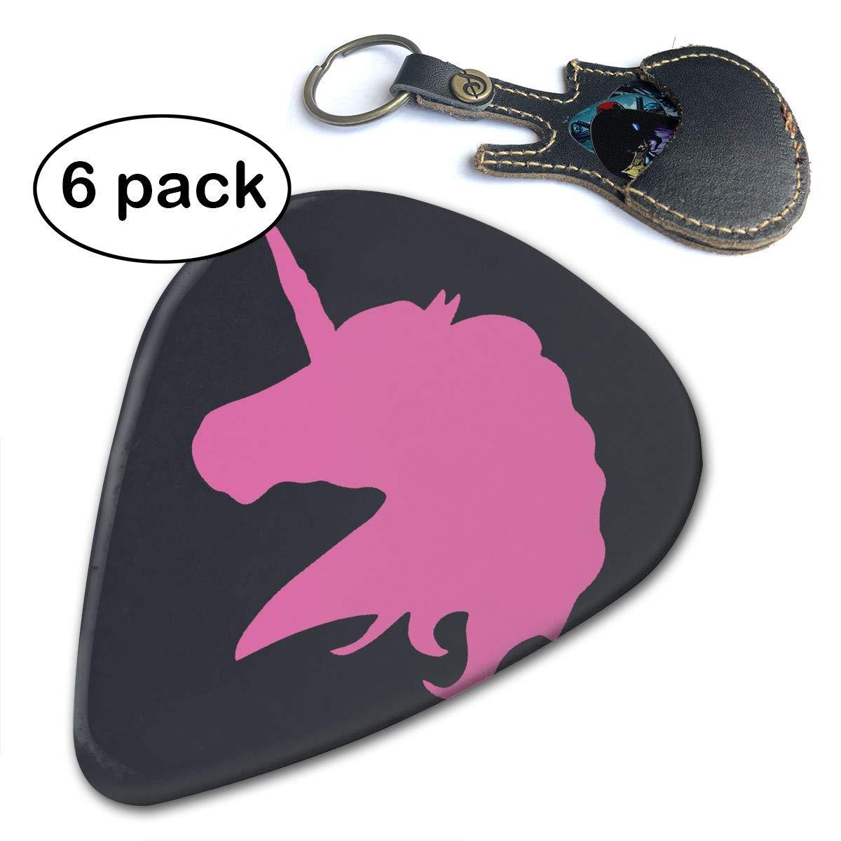 Púas de unicornio rosa polo caballo guitarra única regalo para su ...