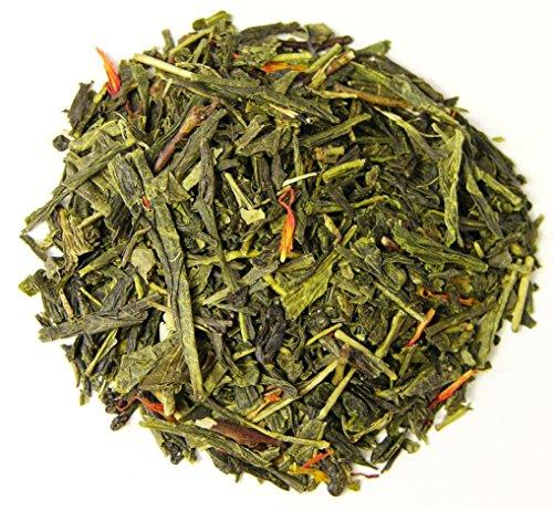 - Hermes Orange Loose Leaf Natural Flavored Green Tea (8oz)