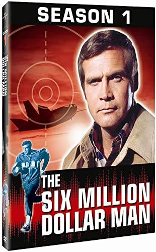 The Six Million Dollar Man Season One Amazon Ca Lee Majors Richard Anderson Dvd