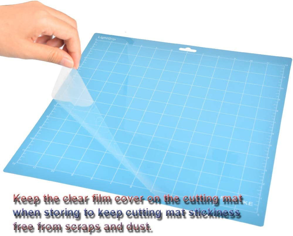 12 x 12 pulgadas iBaste 3 alfombrillas de corte adhesivas de repuesto para m/áquina Silhouette Cameo Plotter Cameo Machine