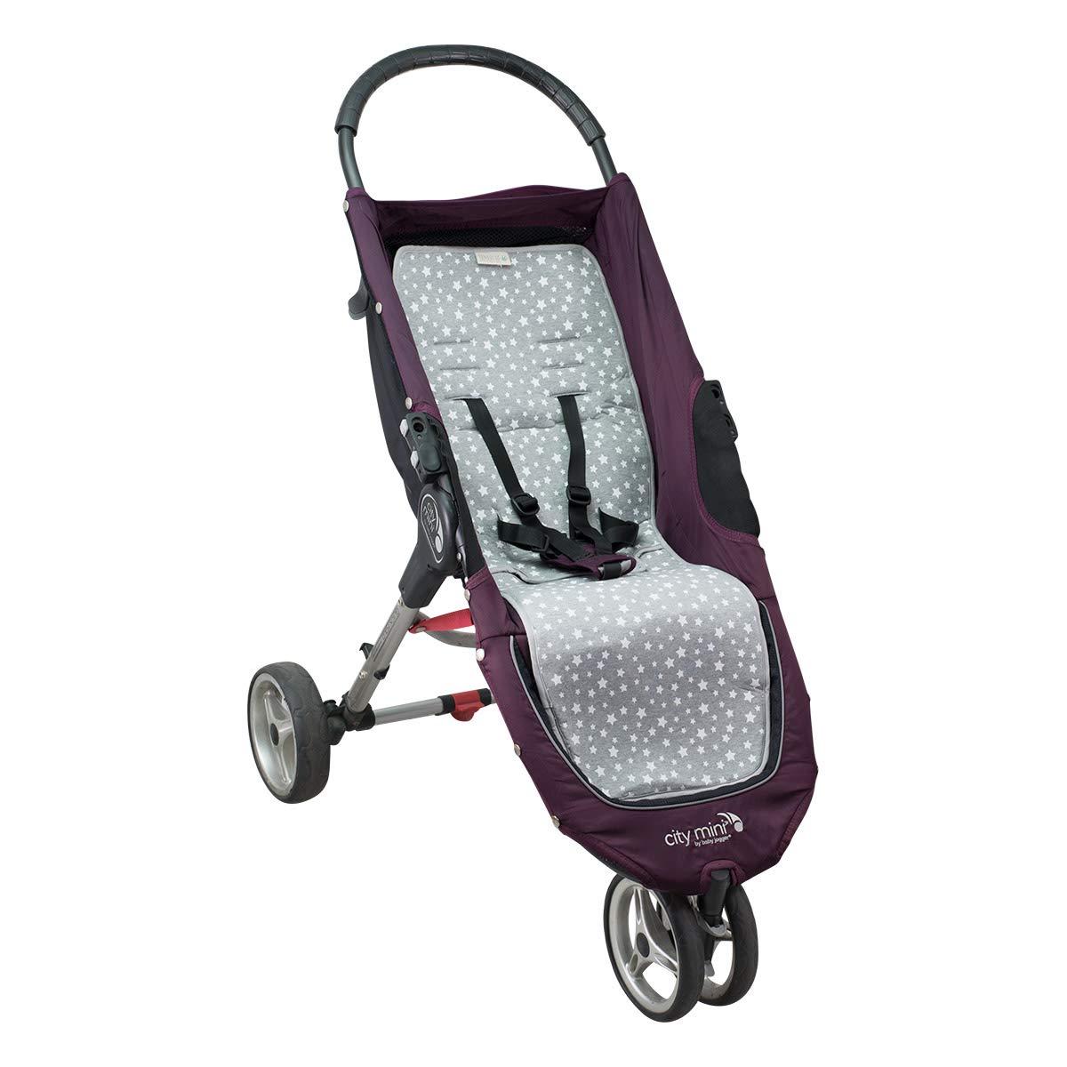 Mat for baby Jogger City Mini and Joolz Janabeb/é/® White Star