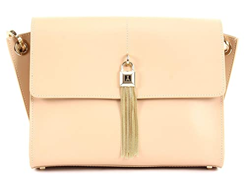 e5c1bd21cc48 PATRIZIA PEPE Aria Crossbody Bag Camel Beige  Amazon.co.uk  Shoes   Bags
