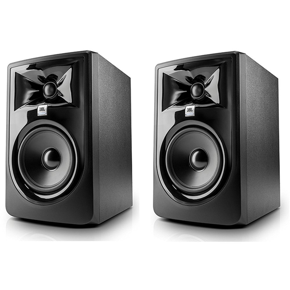JBL 305P MkII 5'' Two-Way Studio Monitoring Speakers (Pair) by JBL Professional (Image #1)