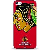 NHL - iPhone 5/5s Oversized Logo Case - CHICAGO BLACKHAWKS