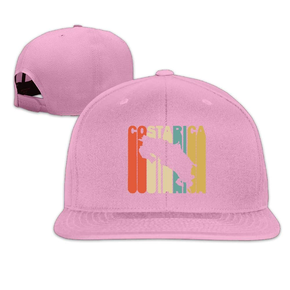 d9b4701a210f6 best light pink costa hat 28660 3ab45; top quality unisex flat baseball cap  hat classic retro style costa rica silhouette snapback hats at