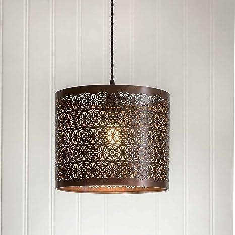 Verrassend Berk's County Pendant Lamp by Colonial Tin-Works - - Amazon.com WT-76