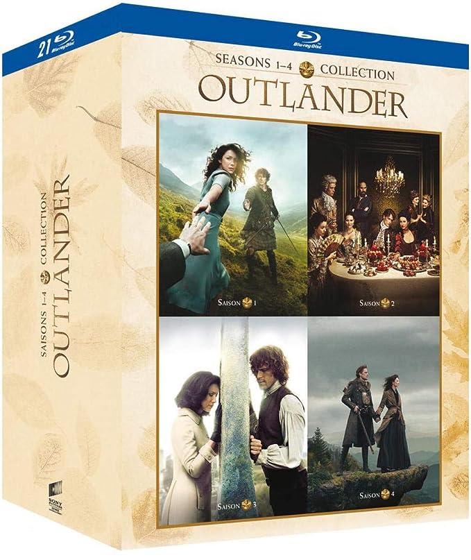Outlander - Saisons 1, 2, 3, 4 [Francia] [Blu-ray]