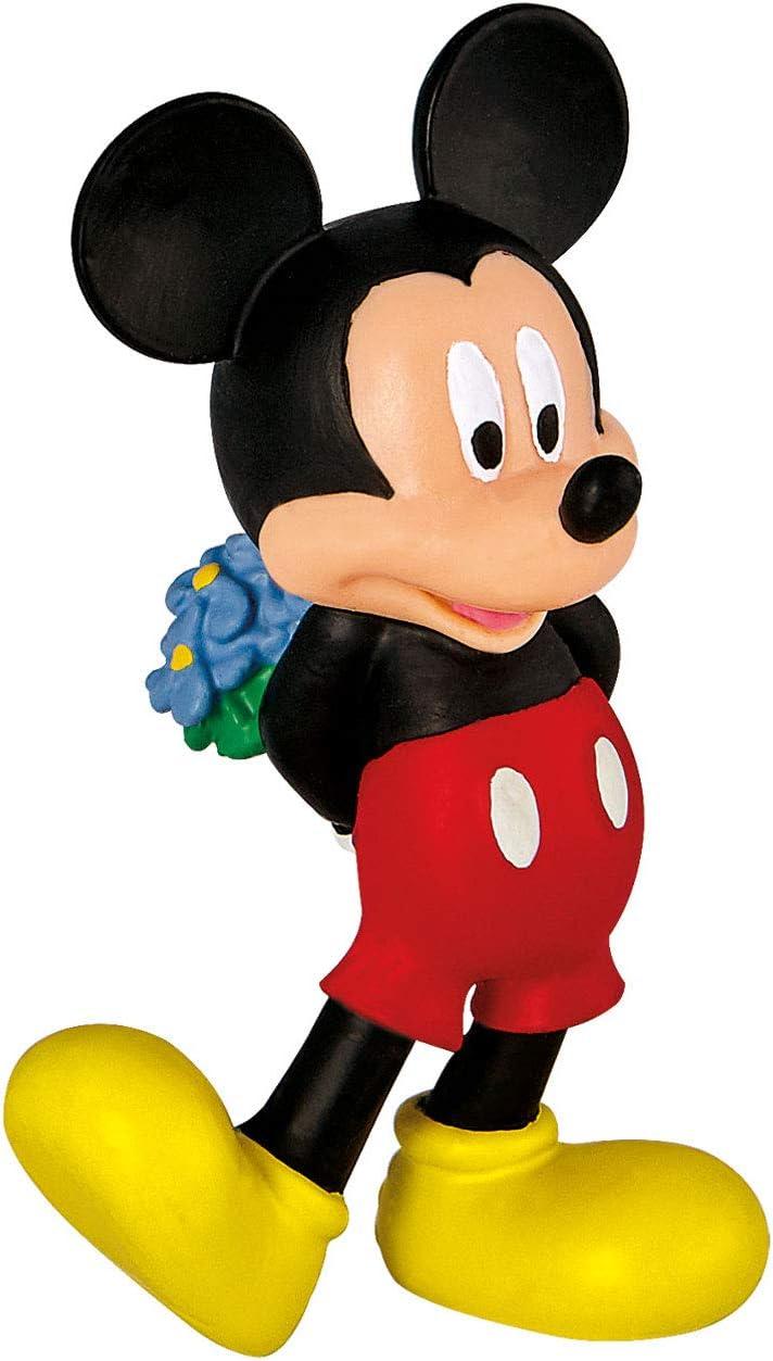 Bullyland 15292 – Figura de Walt Disney Micky Love, Aprox. 7 cm ...