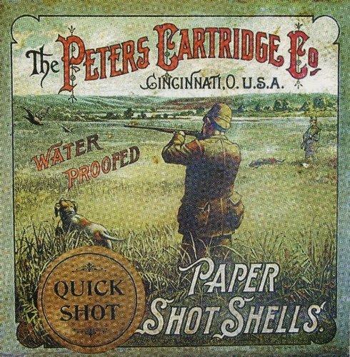 (Peters Cartridge Paper Shot Shells Coaster Set)
