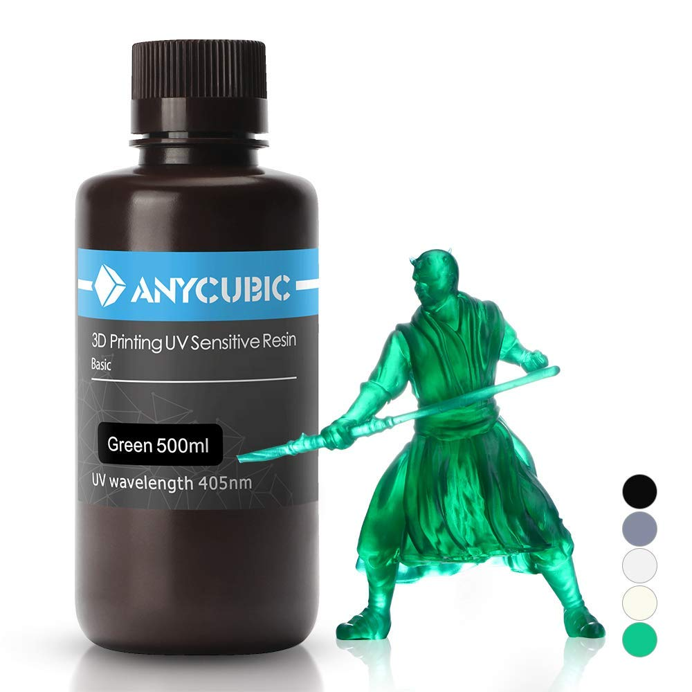 Anycubic 405nm Rapid Resin para impresora 3D Photon DLP LCD UV ...