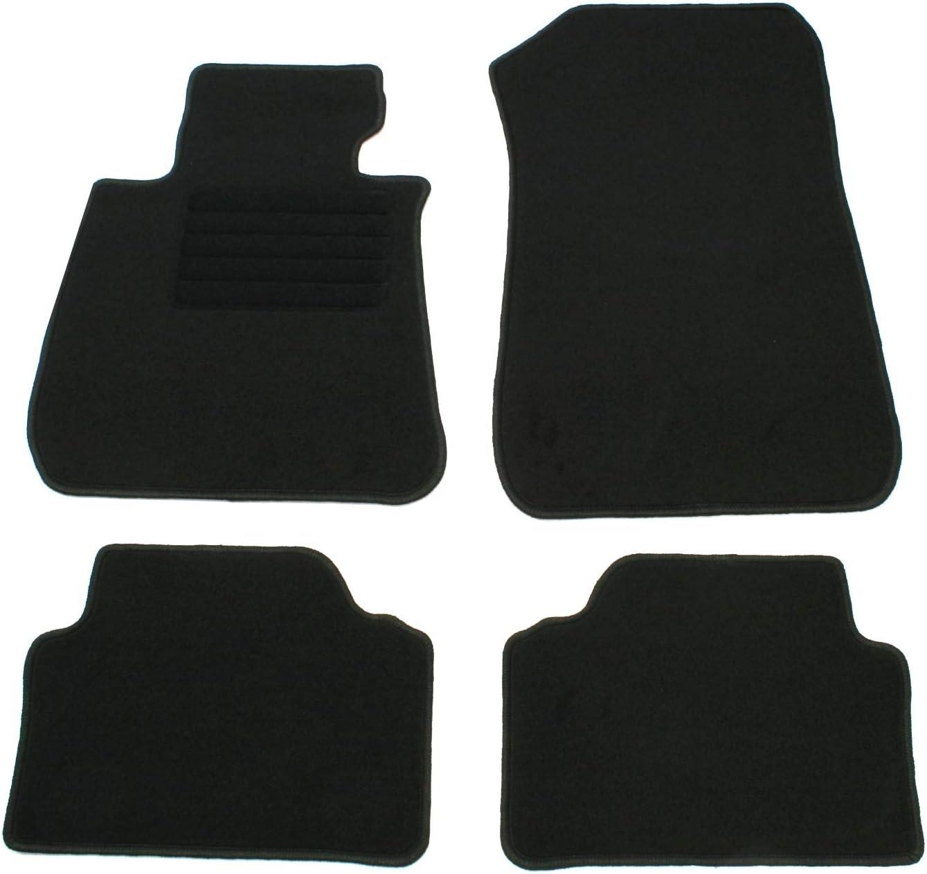 Ad Tuning Gmbh Hg10225 Velours Passform Fußmatten Set Schwarz Auto