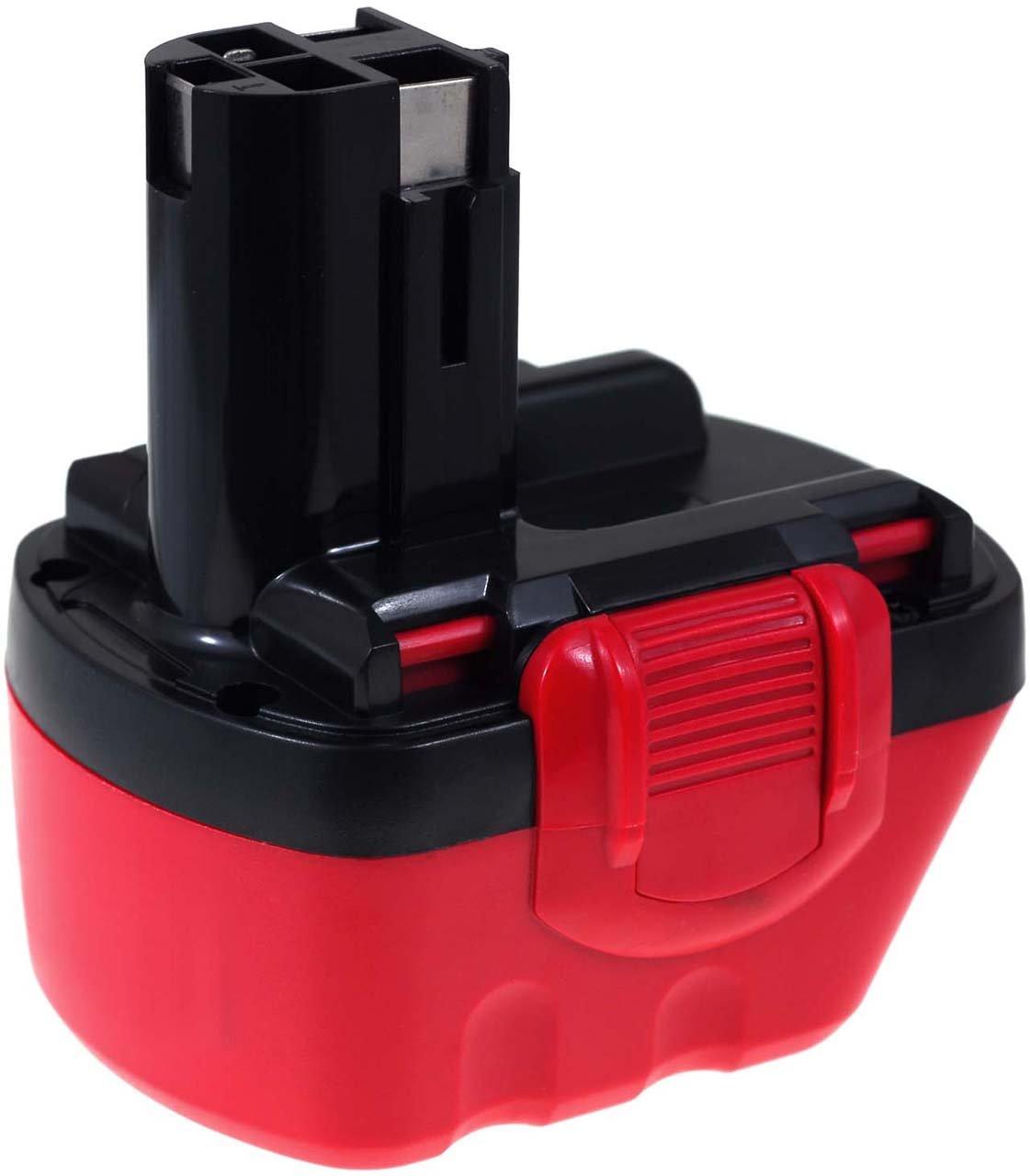 Batteria compatibile per Bosch Exact 12 3000mAh O-Pack, NiMH, 12V, 36Wh, nero