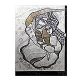 Famille by Albena Vatcheva, 35x47-Inch Canvas Wall Art