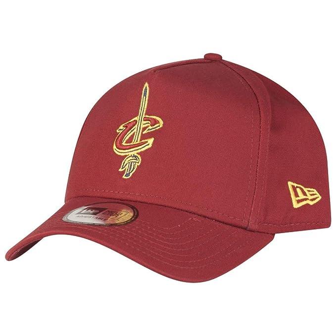 A NEW ERA Gorra de Retroceso Aframe 2 del Equipo NBA ~ Cleveland Cavaliers: Amazon.es: Ropa y accesorios