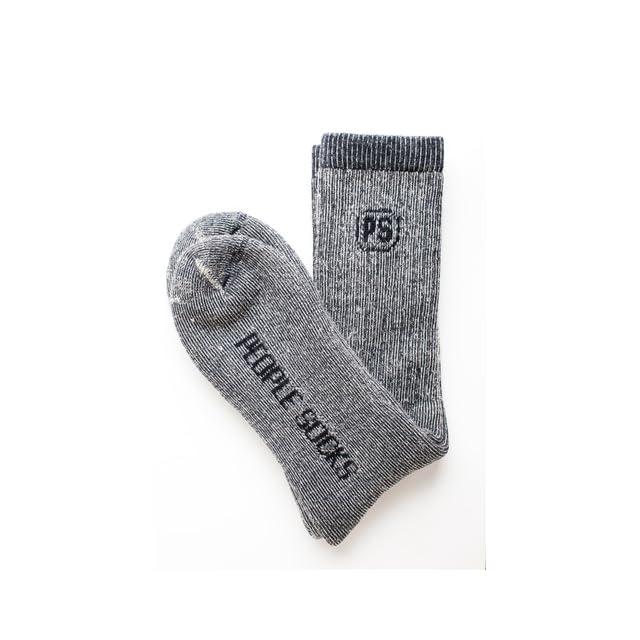 4pairs Merino Wool Socks 4 X Heather Brown Large
