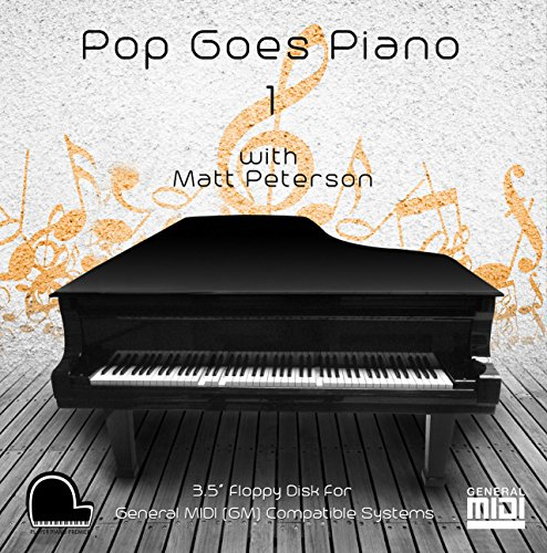 "Pop Goes Piano 1 - General Midi Compatible Music on 3.5"" DD"