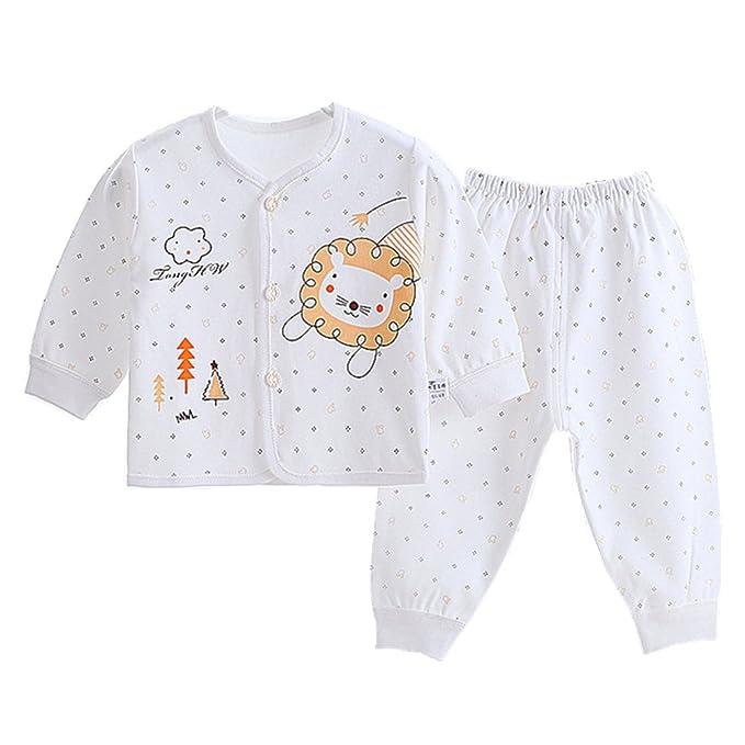 Chickwin Pijamas de bebé, Puros Cálidos de Algodón Otoño e Invierno y Niños Pequeños Ropa