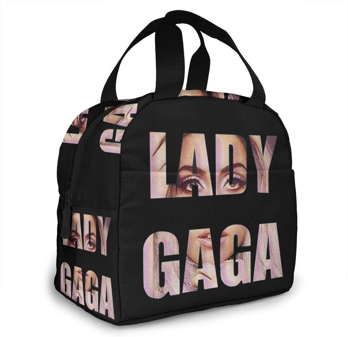 Lady Gaga Love Leisure Tennis Le Sac de d/éjeuner portatif a isol/é Le Sac de Camping de bo/îte /à Lunch pour Le Voyage d/école de Travail Bo/îte /à Lunch isol/ée SDFSDF Sac /à Lunch