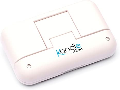 LED Reading Light Designed for Books and eReaders. Kandle by Ozeri II Book Light