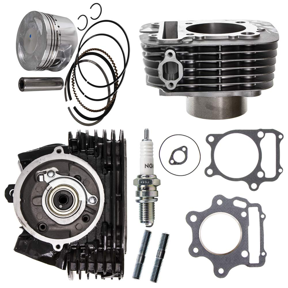 NICHE Cylinder Piston Gasket Head Kit For 1987-2014 Yamaha Raptor Wolverine 350 1UY-11110-02-00 1YW-11101-01-00