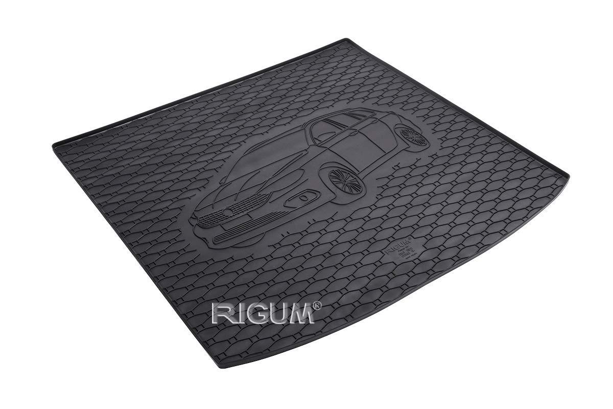 oben ab 2016 PREMIUM Antirutsch Gummi Kofferraumwanne für Fiat Tipo Kombi