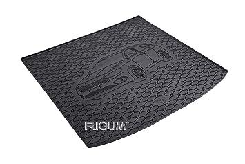 Passgenau Kofferraumwanne geeignet f/ür Seat Leon ST//Kombi ab 2014 ideal angepasst schwarz Kofferraummatte