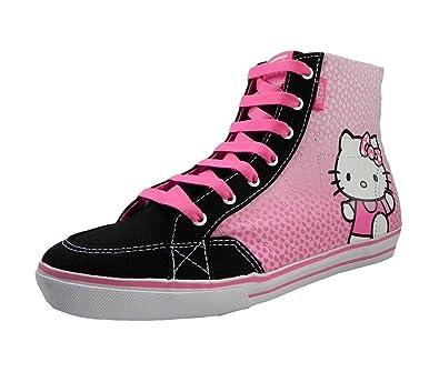 9436bdf5df Amazon.com  New Vans Corrie Hi Top Hello Kitty Girls Shoes (6.0)  Shoes