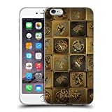 Official HBO Game of Thrones All Houses Golden Sigils Soft Gel Case for iPhone 6 Plus/iPhone 6s Plus