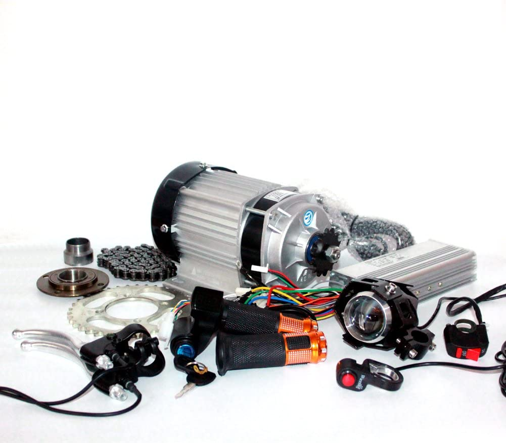 48V 500W motor eléctrico triciclo eléctrico pedicab motor kit eléctrico 48V500W eléctrico trike rickshaw motor kit de conversión