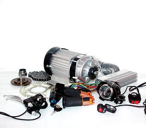 48V / 60V 750W actualización MOTOR BRUSHLESS TRICICLO ELÉCTRICO ...