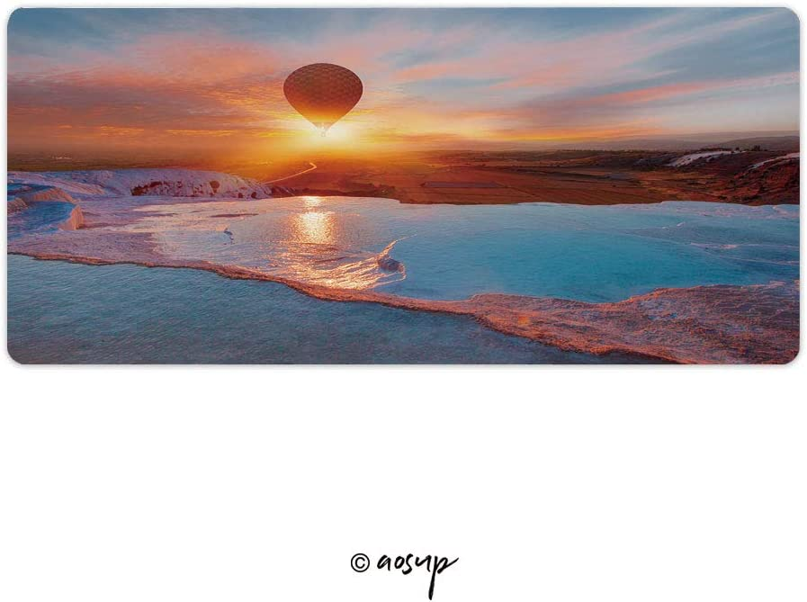 PC 23.6 x 11.8 NO-61100 Large Thick Extended Mouse Mat Desk Pad for Keyboard Homenon Thin Gaming Mouse Pad at Lucky Bay in The Cape Le Grand National Park Near Esperance
