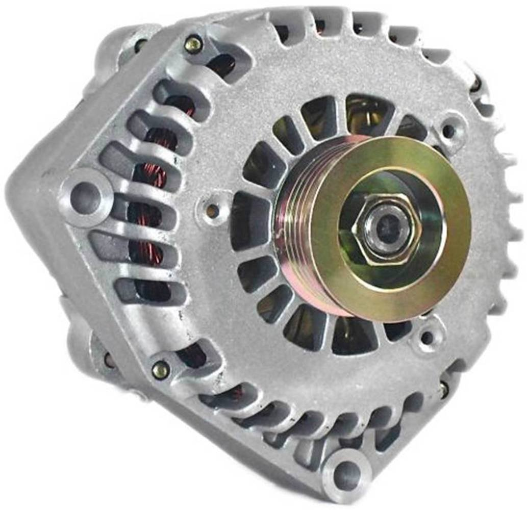 New 250AMP High Output Alternator 4 pin plug For Chevy Silverado Pickup 4.3, 5.0, 5.3, 5.7, 6.0, 6.5, 6.6 Duramax, 7.4 , 8.1 liter (1999-2005) 8292 by Eagle