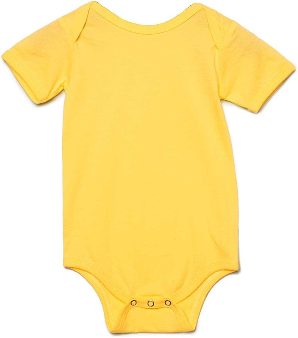 Bella Unisex Baby Jersey Short Sleeve Onesie