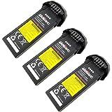 Fytoo 3PCS Batteria Lipo Ricaricabile (7.4V, 350 mAh Lipo) per Rc Droni Quadricotteri UDI U31 / U31W / U36 / T25 / U34W / U36WH batteria ricambio