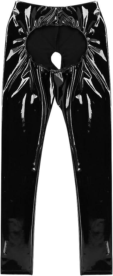 pantalon femme ouvert en bas
