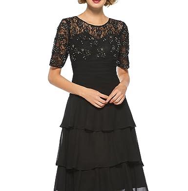Venus Bridal 2018 Women\'s Elegant Dress Simple Short Mother of The ...