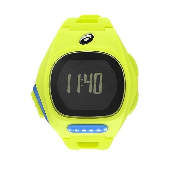 Asics - Reloj para Corredores Ultra Delgado (Amarillo)