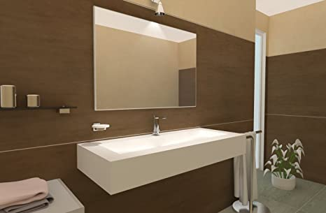 Lavabo sospeso bagno lavandino bagno lavello bagno sospeso moderno ...